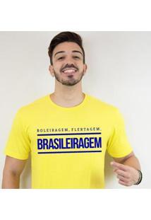 Camiseta Zé Carretilha - Brasil-Brasileiragem Masculino - Masculino