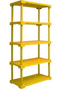 Estante Cube 5 Amarelo