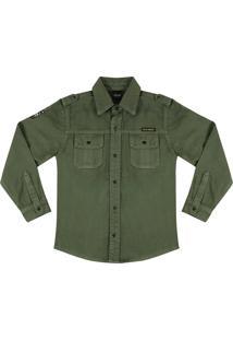 Camisa Look Jeans Sarja Verde
