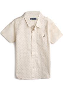 Camisa Carinhoso Menino Lisa Off-White