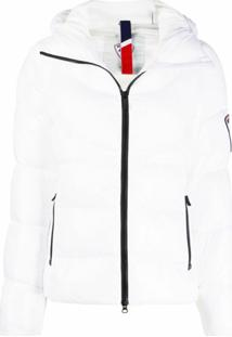 Rossignol Classic V Quilted Hooded Jacket - Branco