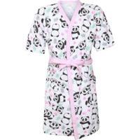 5958a2ff2 Roupão Para Menina Panda Rosa infantil | Shoes4you