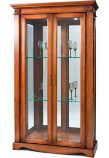 Cristaleira Dior Madeira Maciça Design Clássico Avi Móveis