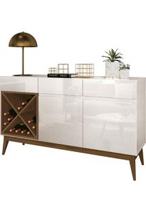 Buffet Chandon Off White/Naturale Edn Móveis - Tricae
