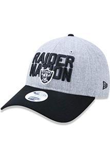 Bone 920 Oakland Raiders Nfl Aba Curva Mescla Cinza New Era 152a1269de0