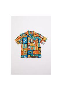Camisa Banda Multicolorido