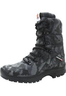 Bota Camuflada Atron Shoes 293 Cinza