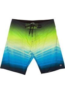 Boardshort Fluid Pro 21 Masculina - Masculino-Verde