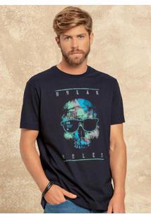 Camiseta Mc Break Rules Marinho