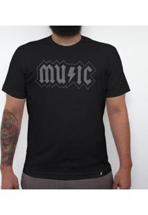 Music Acdc - Camiseta Clássica Masculina