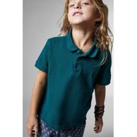 Camisa Polo Infantil Fantasia Reserva Mini Masculina - Masculino-Verde  Escuro 54b570c53588e