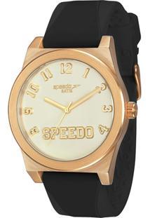 92eec2c10b4 Relógio Analógico Speedo Fashion - Feminino-Preto+Dourado