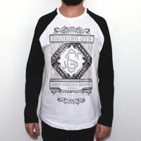 El Cabriton. Smoking Gun - Camiseta Raglan Manga Longa Masculina 07597c0f043ac