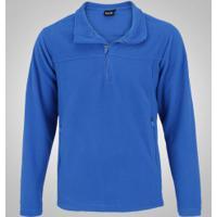 3c21a027c Blusa De Frio Fleece Nord Outdoor Basic - Masculina - Azul
