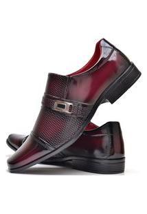Sapato Social Masculino Asgard Com E Sem Verniz Db 814Lbm Vermelho