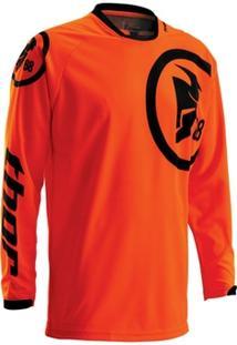 Camisa Para Motocross Thor Phase 16 Infantil Gasket - Masculino