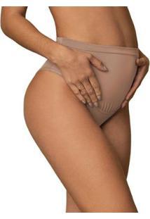 Calcinha Cinta Gestante Sustentação E Conforto - Feminino-Nude