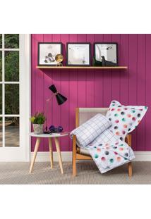 Kit Cobreleito Home Design Petit Queen - Santista - Branco