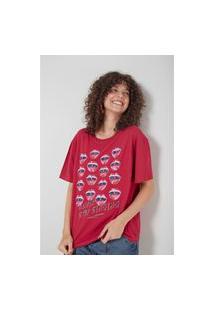 T-Shirt Malha Silk Singing