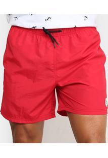 Bermuda Gajang Summer Dream Masculina - Masculino-Vermelho