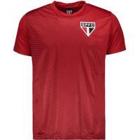 Camiseta São Paulo Cyber Vermelha bd5cb15195049