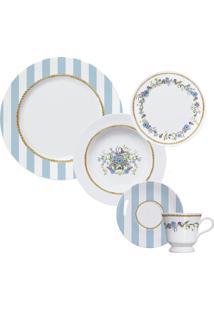 Aparelho De Jantar E Chá 20 Peças Floral Chic 2733020 Germer