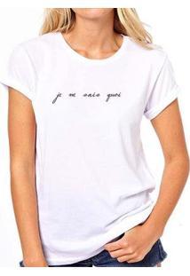 Camiseta Coolest Je Ne Sais Quoi Feminina - Feminino