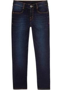 Calça Jeans Hering Skinny Masculina - Masculino-Azul