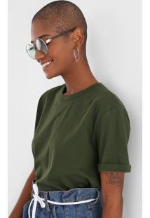 Camiseta Colcci Logo Verde - Kanui