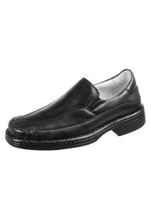 Sapato Social Masculino Sem Cadarço Leve Linha Confort
