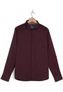 Camisa Masculina Pitt Slim