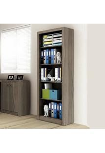Estante Para Livros Aberta Me4104 Carvalho - Tecno Mobili