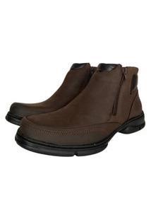 Sapato Anatomic Gel Rústico T Moro Furado Brown - Ref:7887