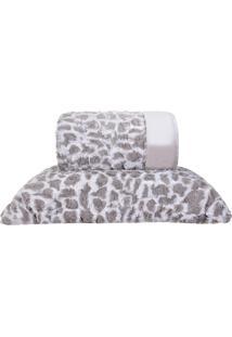 Kit Edredom Slim Peles Com 2 Porta Travesseiros King Native