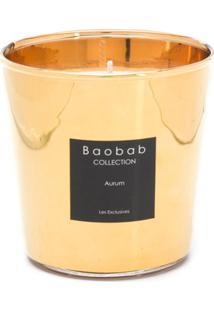 Baobab Collection Vela Aromática Aurum - Dourado