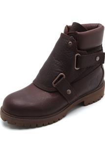 Bota Couro Timberland 6 Premium Foundry Boot Potting Marrom