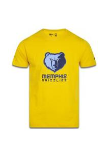 T-Shirt New Era Regular Memphis Grizzlies Amarelo
