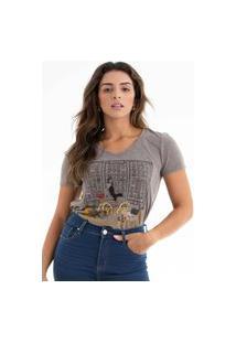 T-Shirt Its&Co Jimmy Cinza Fosco
