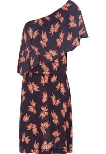 Vestido Curto Butterfly - Preto