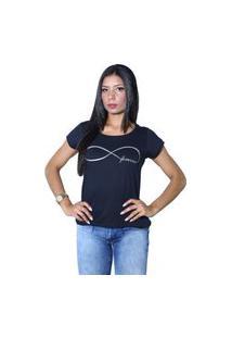 Camiseta Heide Ribeiro Forever Preto