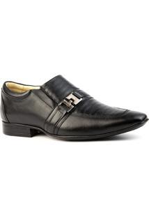 10dedad25 Sapato Social Masculino 3045 Em Couro Doctor Shoes - Masculino-Preto ir  para a loja