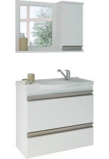 Conjunto De Banheiro Grécia Branco