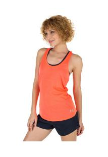 Camiseta Regata Under Armour Streaker - Feminina - Salmao