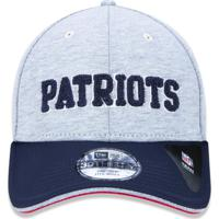 Boné New Era 3930 A Frame New England Patriots Mescla Marinho d6c3c7ad4c4