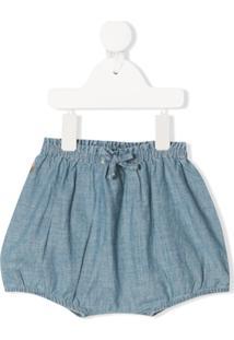 Ralph Lauren Kids Short Azul Com Elástico