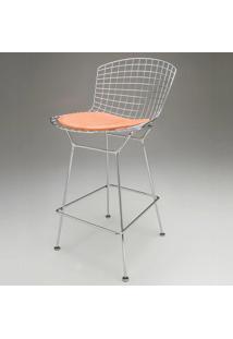 Cadeira Bertóia Bar Almofada Design By Harry Bertoia