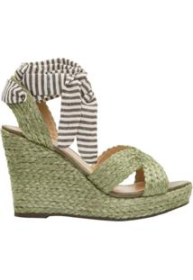 7244a5e31 Anabela Schutz Verde feminina | Shoes4you