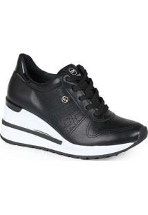 Tênis Sneaker Feminino Via Marte Recortes E Cadarç
