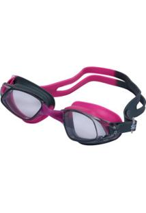 Óculos De Natação Speedo Glypse - Adulto - Rosa/Cinza Esc