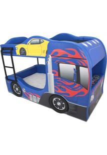 Beliche Prime - Cama Carro Azul